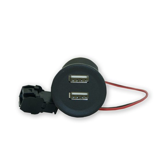 USB double charger with Tyco plug